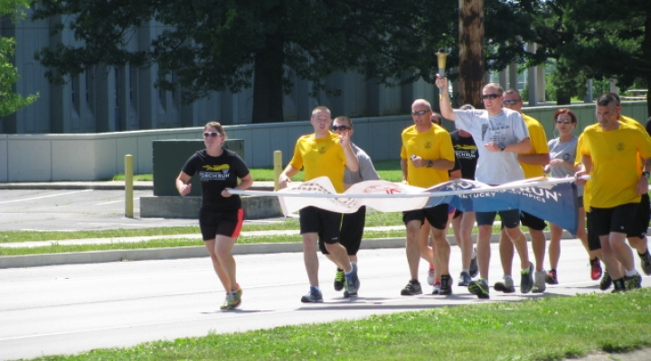 EKU Police Officers lead 5K